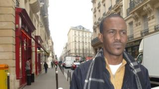 Abdulqader Guled Said in Paris, France