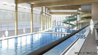 Artist's impression of the new pool