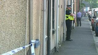 Scene of Millom double murder