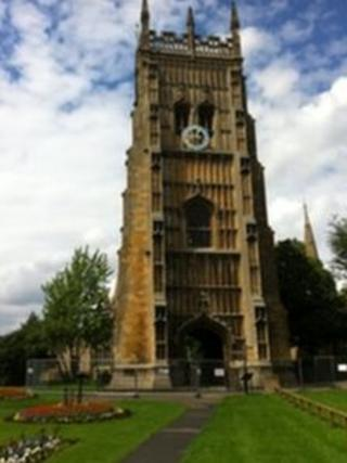 Evesham bell tower