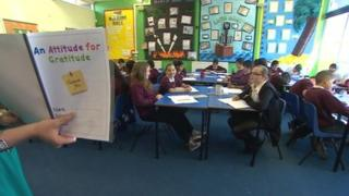 An Attitude for Gratitude at Firs Primary School in Castle Bromwich