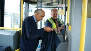 Bus drivers change at Arena Park