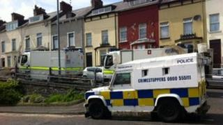 Security operation at Beechwood Avenue