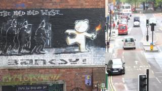 Banksy's 'Mild Mild West'