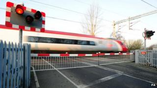 File photo dated 01/12/12 of a general view of level crossing at Wedgwood train station in Stoke-on-Trent, Staffordshire