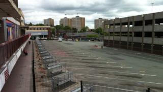 Old bus station site