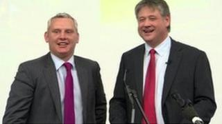 The new political party, NI21, was formed by MLAs John McCallister and Basil McCrea