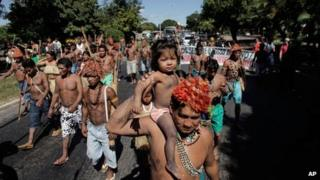 Munduruku indigenous protest, 11 June 13
