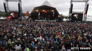 Glastonbury Festival in 2011