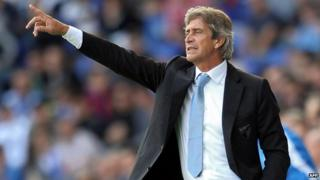Manuel Pellegrini picked as Manchester City manager