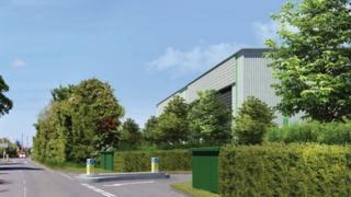 Sutton Courtenay warehouse