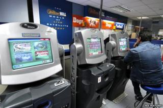 Fixed odds betting terminals in William Hill