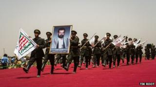 Hussein Badr al-Dine al-Houthi's funeral (05/06/13)