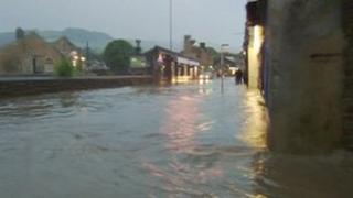 Flooding in the Calder Valley
