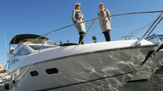 Sunseeker Australia Manhattan 53 boat at the Sydney International Boat Show