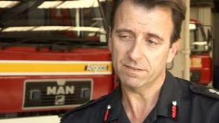 Chief Fire Officer Mark James