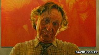 David Cobley's portrait of Ken Dodd