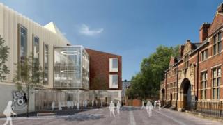 New Angel Street building design
