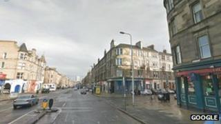 Leith Walk at the Dalmeny Street junction