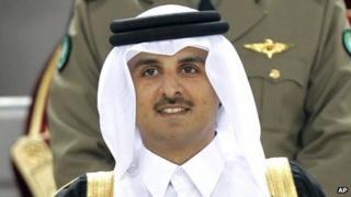 Sheik Tamim bin Hamad Al Thani