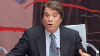 French businessman Bernard Tapie (file photo)