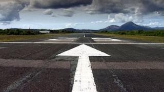 Runway on the Isle of Skye