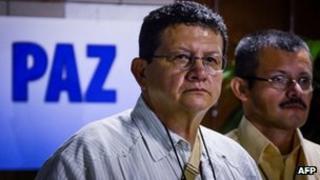 Farc leader Pablo Catatumbo in Cuba