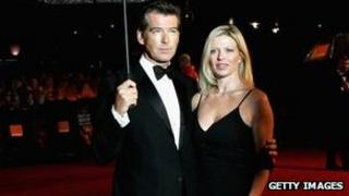 Pierce Brosnan and his daughter Charlotte
