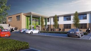 Artist's impression of the new Ellesmere College