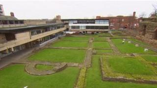 Vaughan College and Jewry Wall