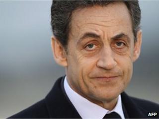 Ex-president Nicolas Sarkozy