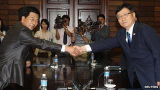 Park Chol-Su and Su Ho (6 July 2013)