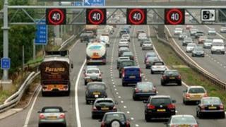 Managed motorway scheme