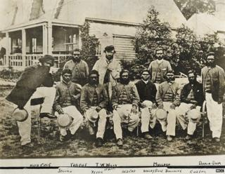 Aboriginal cricket team in NSW, 1867