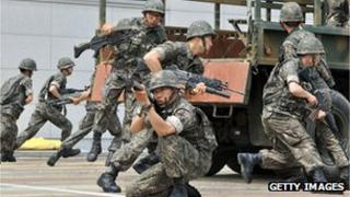 South Korean army