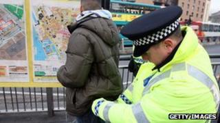 Police stop and search incident