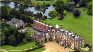 view of Sandringham estate