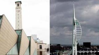 Southampton and Portsmouth