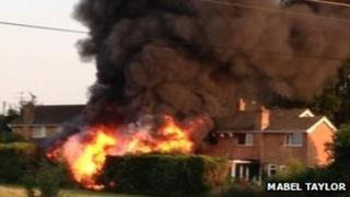 Grateley house fires