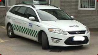Serco vehicle
