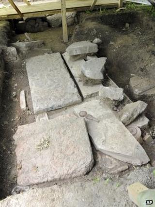 Jewish gravestones uncovered in Vienna