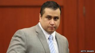 George Zimmerman arrives at court in Sanford, Florida on 11 July 2013