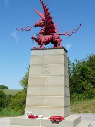 Mametz Wood memorial