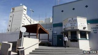 Ayalon prison near Tel Aviv, where Prisoner X committed suicide in 2010 (13 Feb)