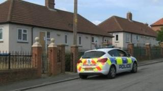 Scene of fatal house fire, Sycamore Crescent, Trimdon Station