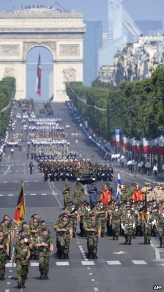 Bastille Day parade, 14 July 2013