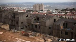 West Bank settlement of Ariel (file photo)