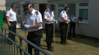 Police searches in Brislington, Bristol