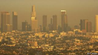 Smog in L.A.