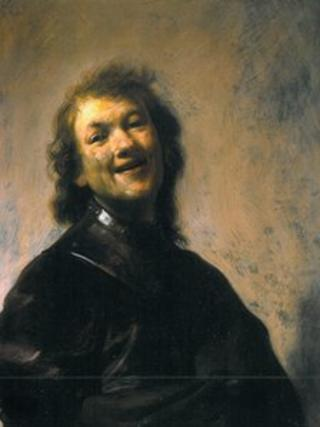 Rembrandt Laughing